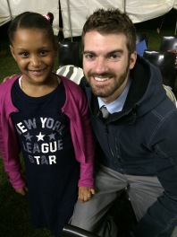My favorite little buddy Jordan! She always wore the biggest smile, and told me she was going to miss me after 5 minutes of knowing her haha.
